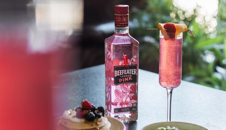 Meet the new Beefeater Pink gin, available now from duty free
